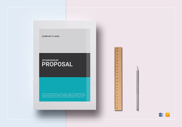 Sponsorship Proposal Word Template